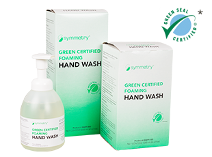Green Certified Foaming Hand Wash Symmetry Hygiene Program