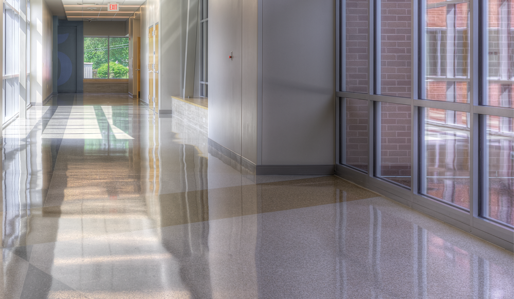 Cleaner School Floors with Buckeye