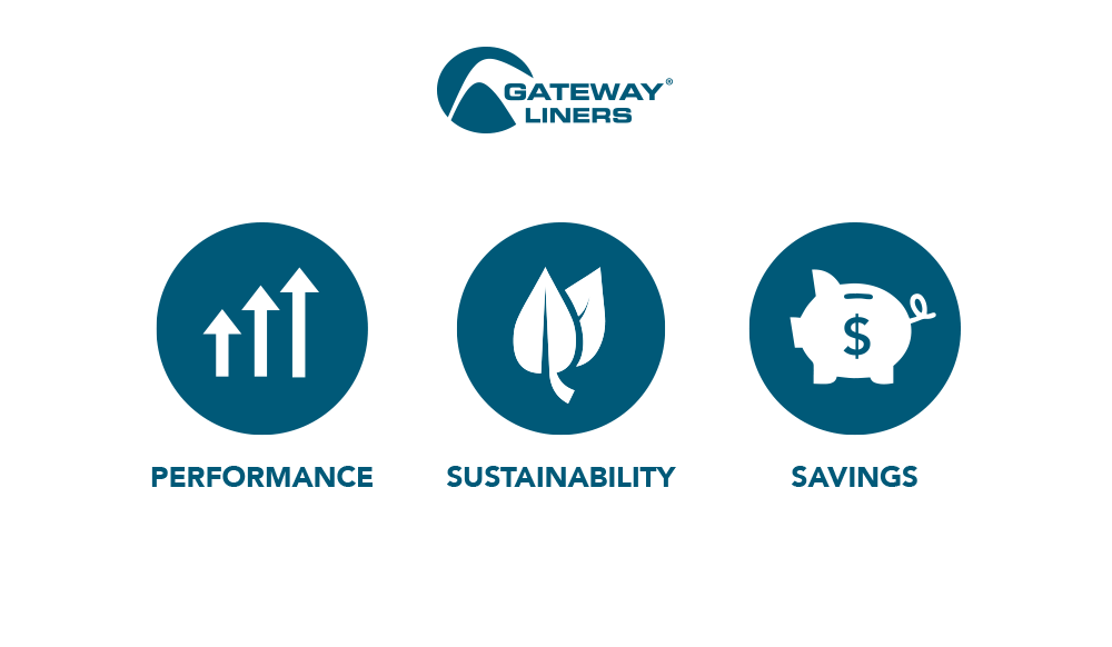 Gateway® Liners: Performance, Savings and Sustainability