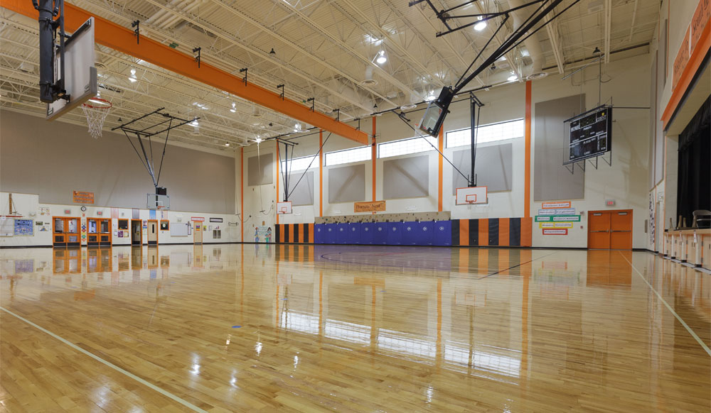 Improving Indoor Air Quality While Recoating Your Gym Floors