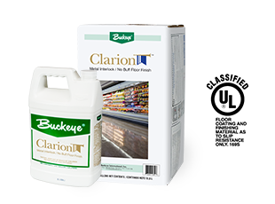 No Buff Floor Finish Clarion