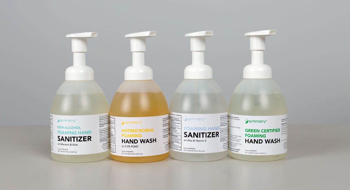 Symmetry Foaming Hand Sanitizer, Industrial Hand Sanitizer